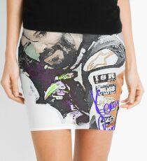 Keanu Reeves - Racing Game (by ACCI) Mini Skirt