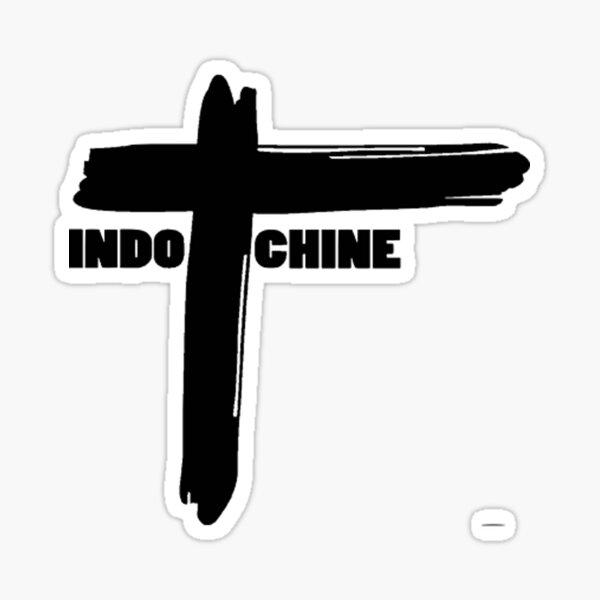 Indochina group logo Glossy Sticker