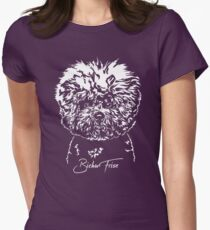 BICHON FRIZE dog dogs gift idea Women's Fitted T-Shirt