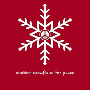 Another Snowflake for Peace by djang0
