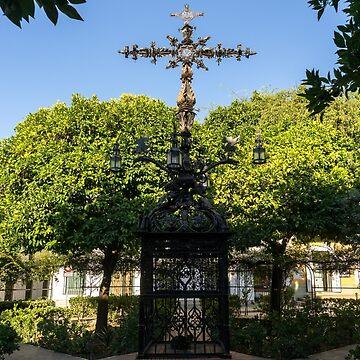 Plaza de Santa Cruz - Church of the Holy Cross Square by GeorgiaM