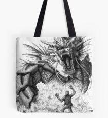 Dragon Rage Tote Bag