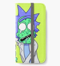 Rick und Morty iPhone Flip-Case/Hülle/Klebefolie