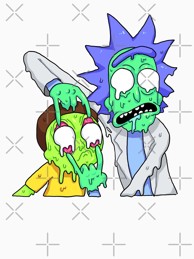 Rick and Morty  by megswegs