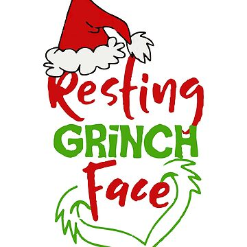Resting Grinch Face by Nkioi