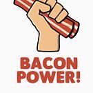 Bacon Power by twgcrazy