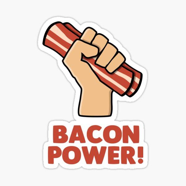 Bacon Power Pegatina