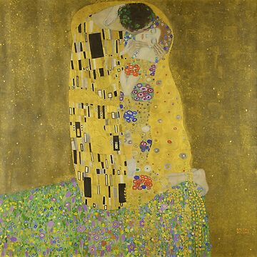 The Kiss by Gustav Klimt by LuciaS