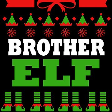 Brother Matching Family Christmas Elf Funnypng by kh123856