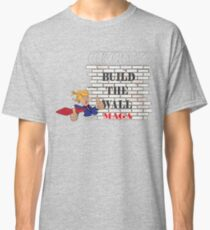 TRUMP Build the Wall MAGA  Classic T-Shirt