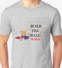TRUMP Build the Wall MAGA  Unisex T-Shirt