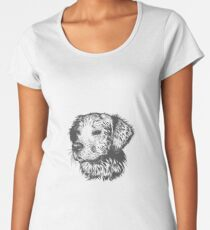 dog t-shirt for dog lovers Women's Premium T-Shirt
