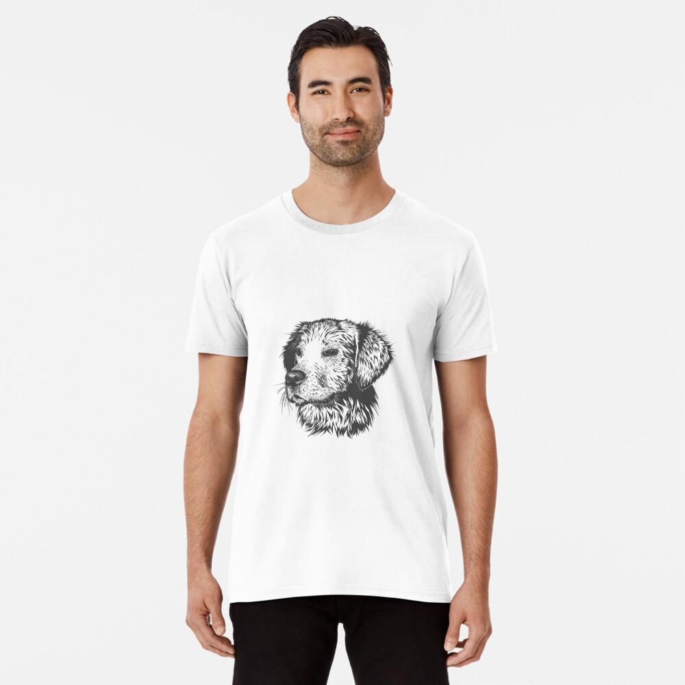 dog t-shirt for dog lovers Premium T-Shirt