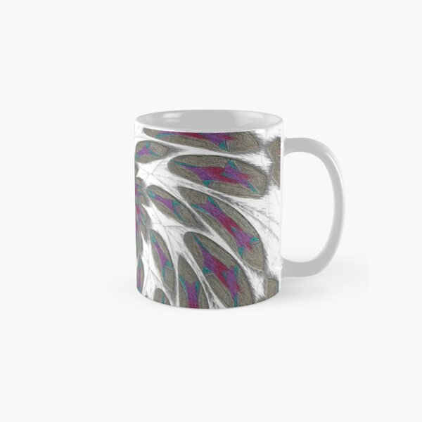 Golden Feathers in the Wind Fall Into Winter Collection at Green Bee Mee Classic Mug