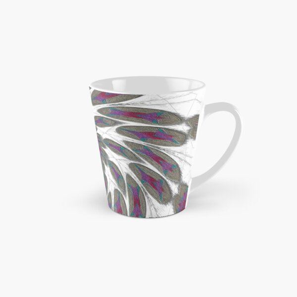 Golden Feathers in the Wind Fall Into Winter Collection at Green Bee Mee Tall Mug