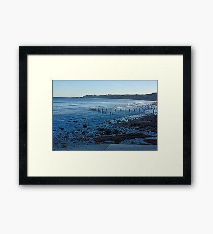 Sandsend Bay Framed Print