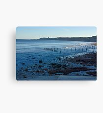 Sandsend Bay Canvas Print