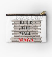 Build the Wall MAGA  Studio Pouch