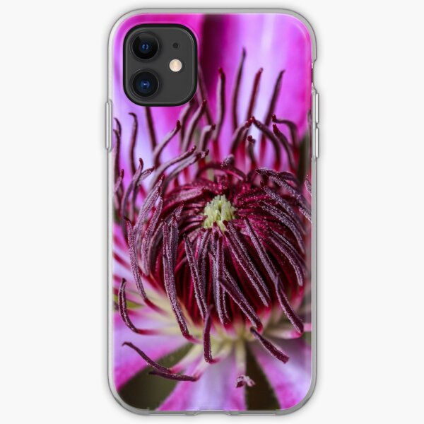 Clematis iPhone Soft Case