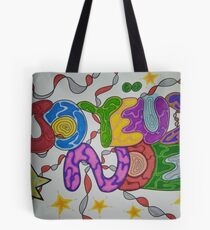 Merry Christmas style tags Tote Bag
