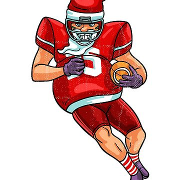 Santa football by 8fiveone4