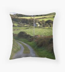 """""""The Road Home"""" Throw Pillow"""