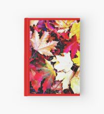 Fallen Leaves Hardcover Journal
