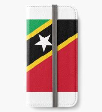 Flag of Saint Kitts and Nevis iPhone Wallet/Case/Skin