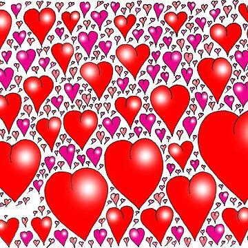 Heart balloons by davidfraser