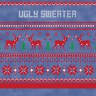Ugly Sweater Christmas Sweatshirt by CreatedTees