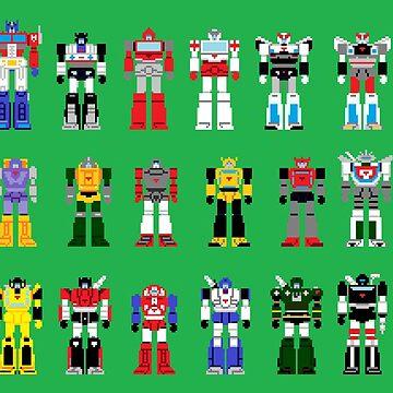 Autobots g1 by CraigMatthews