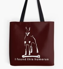I found this humerus | Doberman Pinscher | NickerStickers on Redbubble Tote Bag