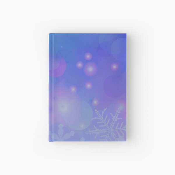 Winter Flowing Hardcover Journal