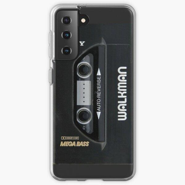 retro walkman Samsung Galaxy Soft Case