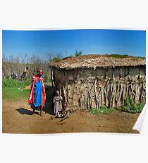 Masai Mara house Poster
