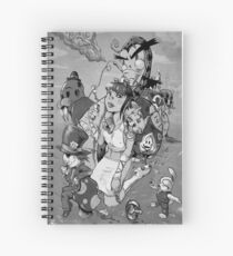 Alice takes another drink Spiral Notebook