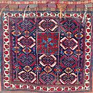Khamseh  Antique Fars Persian Bag Face by Vicky Brago-Mitchell