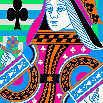 QUEEN OF CLUBS 2 by IMPACTEES