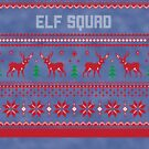Elf Squad Christmas Sweater by CreatedTees