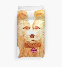 Isle of dogs - Nutmeg Duvet Cover