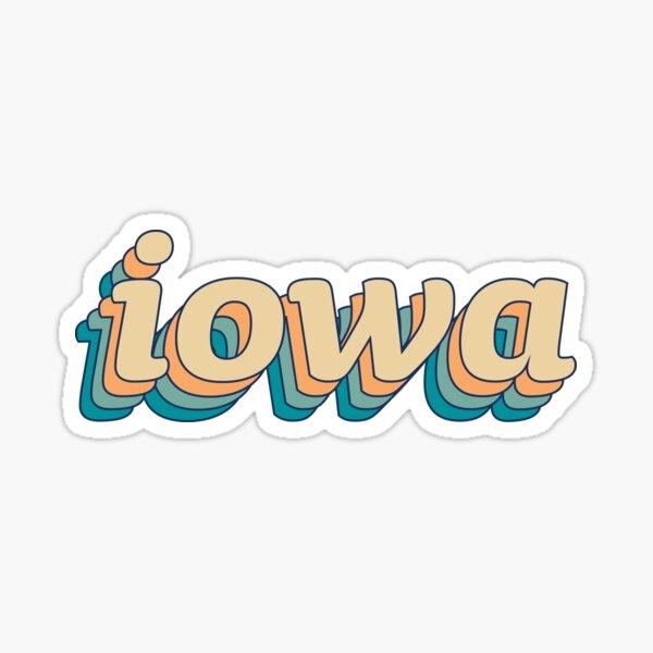 Iowa Retro - 01 Sticker