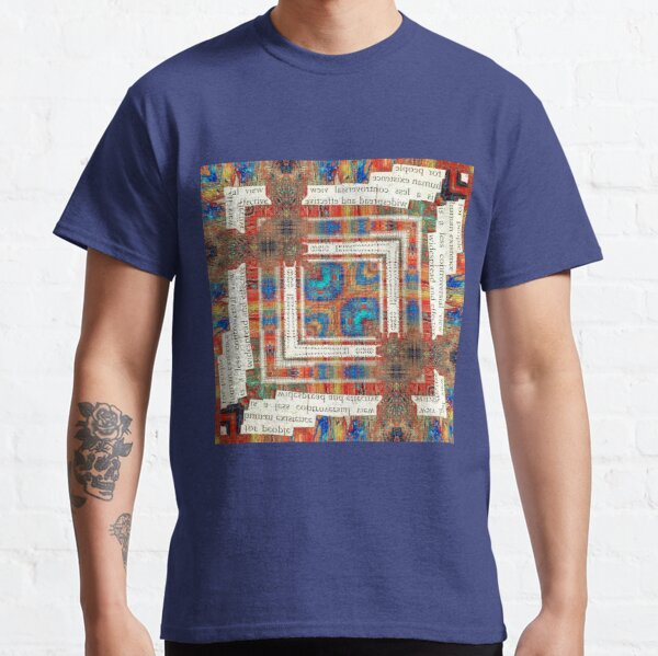 human existence squares Classic T-Shirt