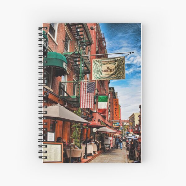 Little Italy, New York Spiral Notebook