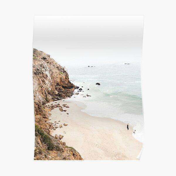 Malibu Beach California Poster