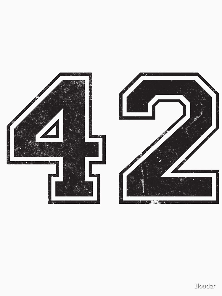 42 (number)   Answer to the Ultimate Question of Life, The Universe, and Everything  by 1louder