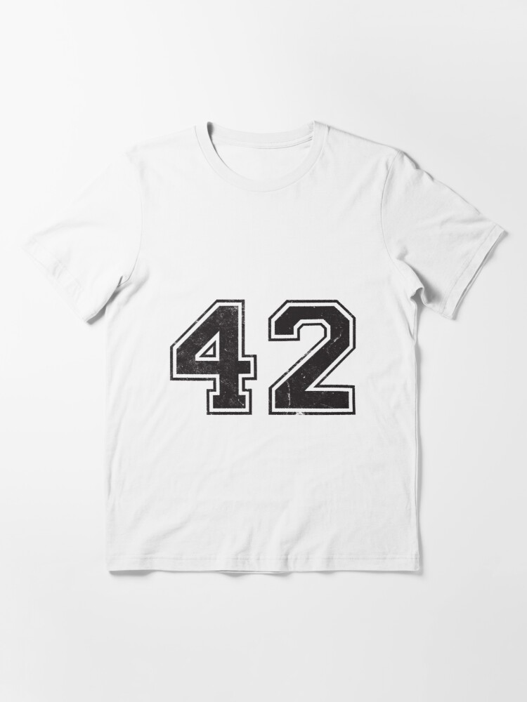 Alternate view of 42 (number)   Answer to the Ultimate Question of Life, The Universe, and Everything  Essential T-Shirt