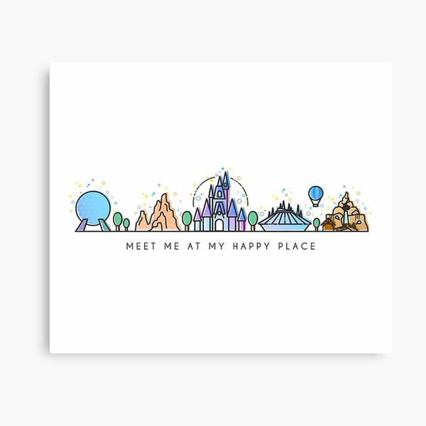 wonderland park Canvas Print