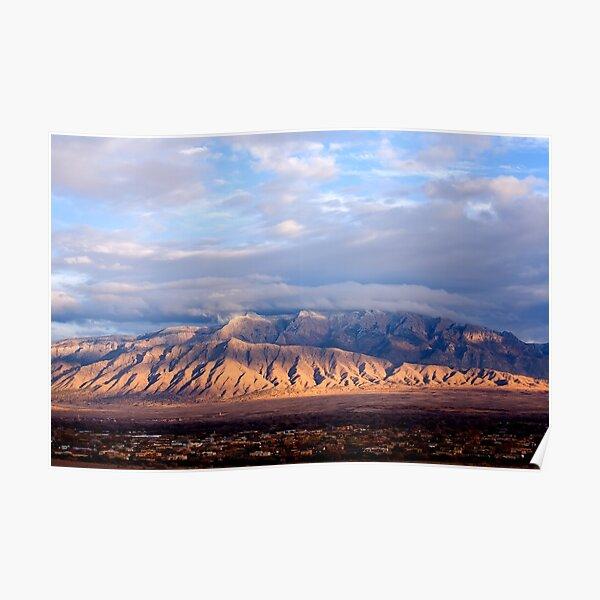 The Sandia Mountains by Albuquerque, NM Poster