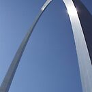Archway St Louis  by Jack McCabe