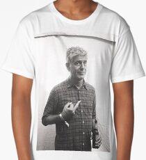 Anthony Bourdain Middle Finger Long T-Shirt